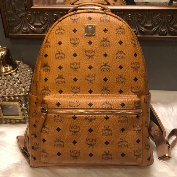MCM Handbags - BRAND NEW MCM BACKPACK
